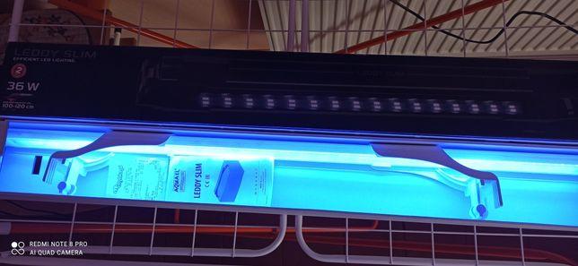 Lampa aktyniczna AQUAEL 36 wat do akwarium do 120 cm