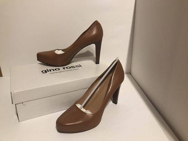Nowe buty na wysokim obcasie Gino Rossi