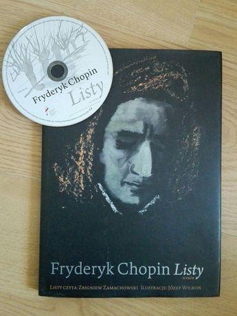 Listy Fryderyka Chopina +CD