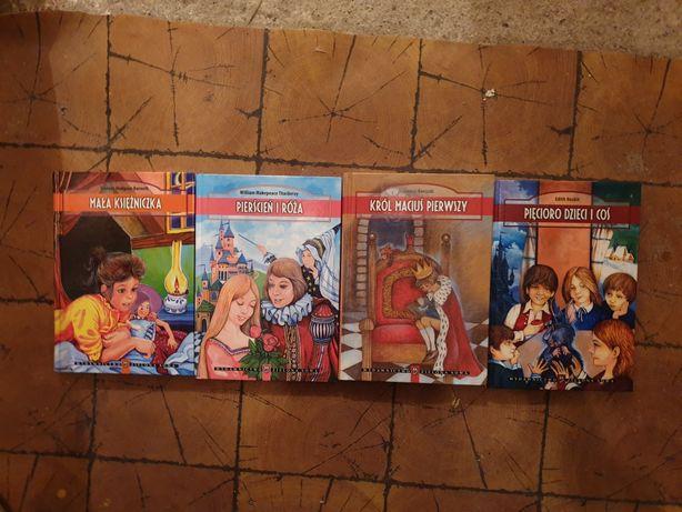 Książki dla dzieci młodzieży Król Maciuś Pierwszy Mała Księżniczka