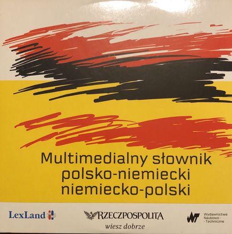 Multimedialny słownik polsko-niemiecki niemiecko-polski - CD-ROM