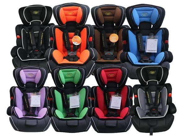 Fotelik samochodowy SUMMER BABY COSMO UCHYLNY 9-36kg w 10 kolorach