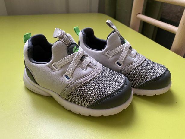 Белые кроссовки, кеды, мокасины, кроссы, легкие, летние. 14,5см