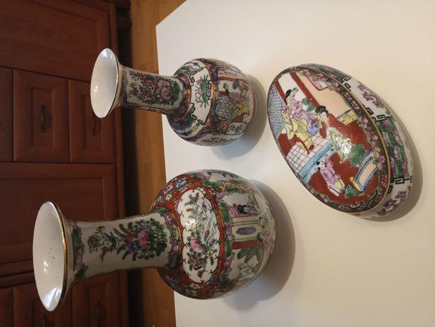 Zestaw porcelany chińskiej