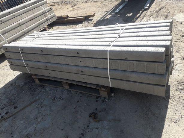 Slupki betonowe do siatki leśnej, do pastwisk, do sadu transport HDS