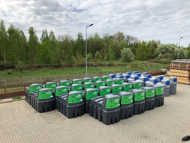 KINGSPAN FuelMaster® 2500L wąż 10m - Zbiornik na olej napędowy paliwo