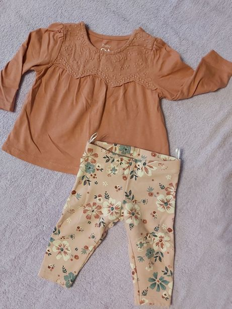Komplety tunika i legginsy/body i bloomersy