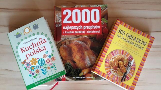 3 nowe książki kucharskie