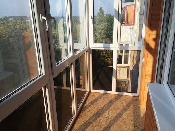 Балкон под ключ (Veka, Rehau)