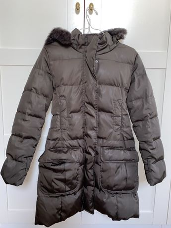 Brązowa kurtka zimowa Max&Co