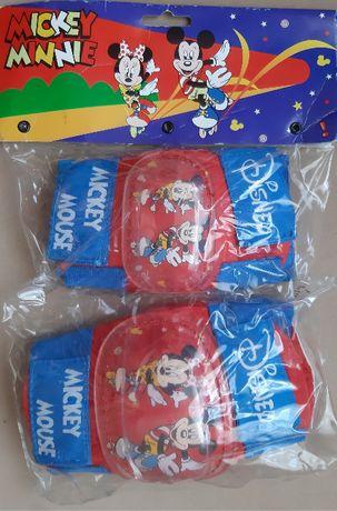 Ochraniacze na łokcie i kolana - Myszka Miki - Disney - KOMPLET - NOWE