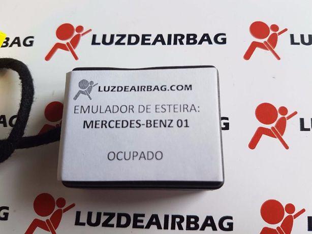 M1 Mercedes Benz Emulador Simulador Esteira - Luz SRS Airbag Plug&Play