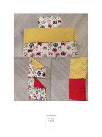 Kołdra 95x70 + 2 poduszki Minki- kotki