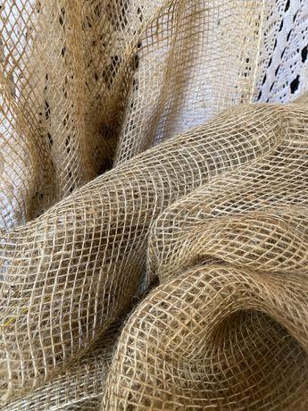 Worek len materiał naturalny 6,5 m sznur sznurek eco