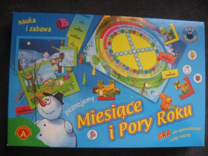 Gra planszowa Miesiące i Pory Roku Ostrów Wielkopolski - image 1