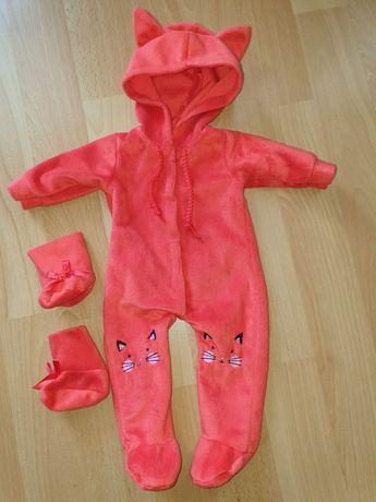 Kombinezon dla lalki + buciki - Sindy