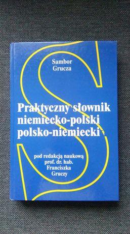 Praktyczny słownik niemiecko-polski polsko-niemiecki Sambor Grucza