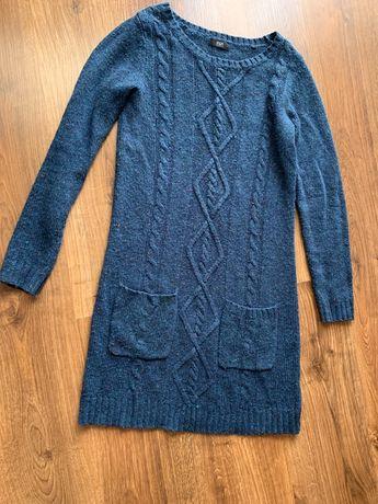 Sukienka sweterkowa F&F s/m długi rękaw jak nowa