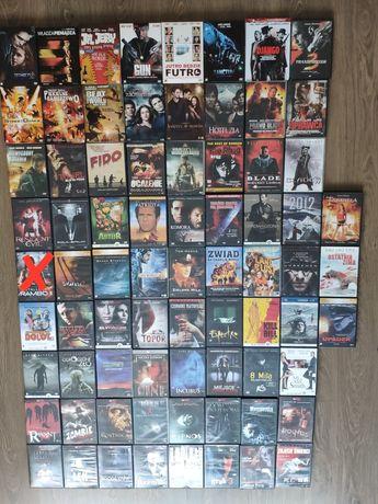 Filmy na DVD 74 szt