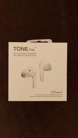 LG Słuchawki TONE Free, bezprzewodowe, douszne HBS-FN7 (biały) NOWE