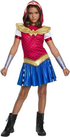 Карнавальный костюм платье Чудо женщины на хэллоуин Halloween 5-6 лет
