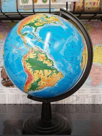 Глобус политический