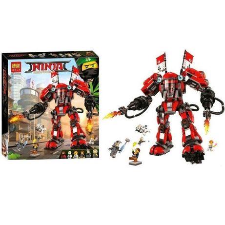 Конструктор 10720 ниндзя Огненный робот Кая 980 дет Lego 70615