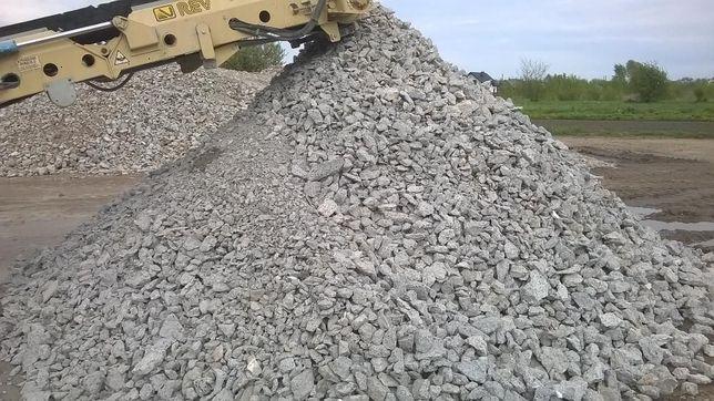 Gruz betonowy, kruszywo, ziemia, piasek, wywóz gruzu Radom i okolice