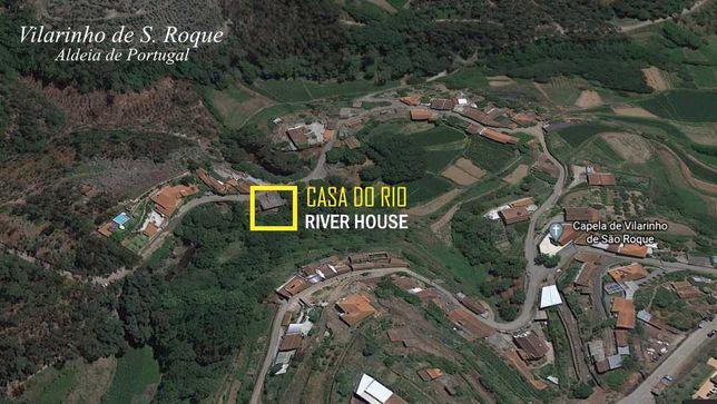 Casa do Rio para remodelar, Vilarinho de S. Roque, Aldeia de Portugal