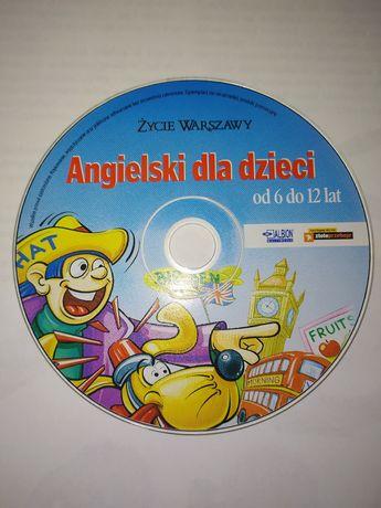 Angielski dla dzieci od 6 do 12 lat płyta