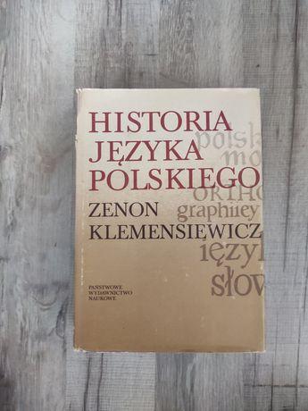 Historia języka polskiego Zenon Klemensiewicz 1981