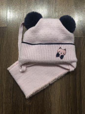Продам комплект(шапочку с хомутиком)