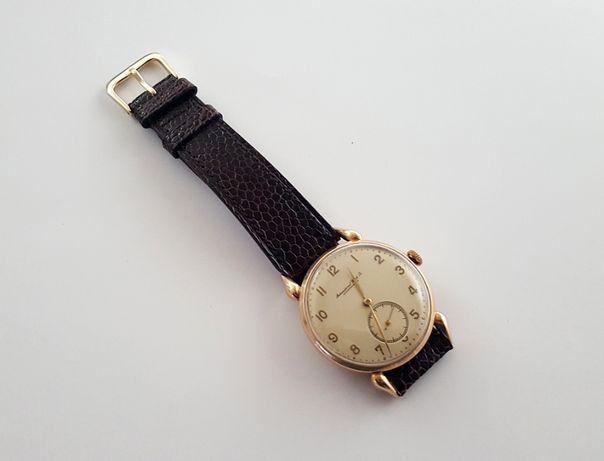 Złoty zegarek IWC Shaffchausen z 1945 roku - rarytas