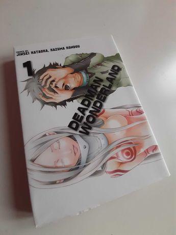 Manga Deadman Wonderland tom 1-2
