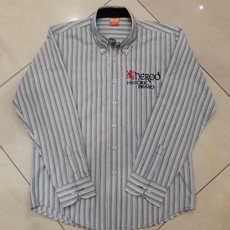 плотная рубашка с вышивкой р 152