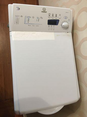 Вертикальная стиральная машинка вертикальной загрузки indesit wite 107