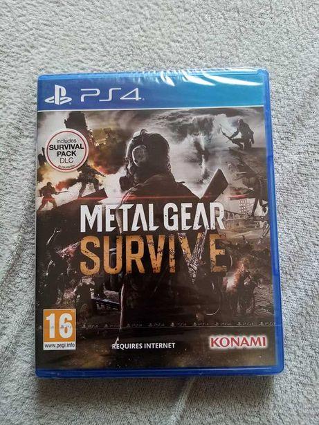 Metal Gear Survive gra ps4 playstation 4 pro nowa