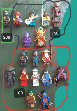 Минифигурки Lego Ninjago оригинал, редкие!!!