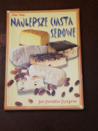 Książka z przepisami pt Najlepsze ciasta serowe