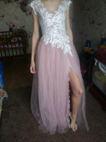 Платье выпускное нарядное праздничное вечернее красивое
