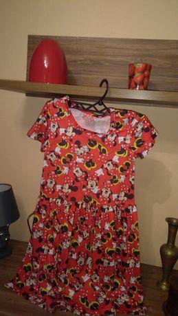 Sukieneczka dla dziewczynkiroz 134   /140 Disney nowa