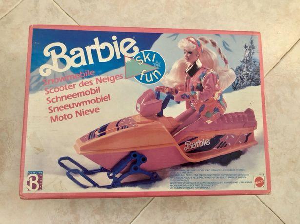 1991 BARBIE Moto Ski / Mota da Neve - Rara e Nova