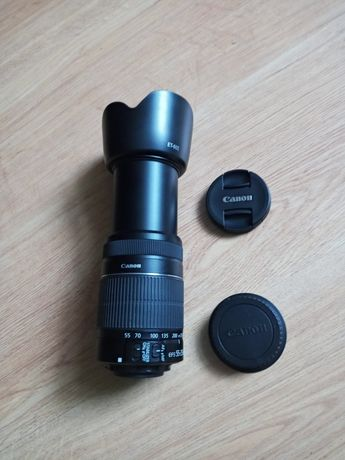 Obiektyw Canon..