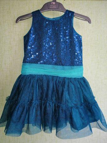 Нарядные платье M&S 12-18 месяцев 80-86 см