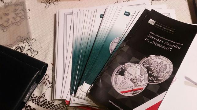 Sprzedam foldery monet polskich