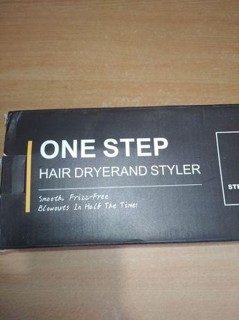 Фен расческа для укладки сушки волос One Step Hair Dryer