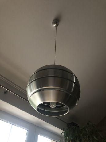 Lampa sufitowa szczotkowany chrom