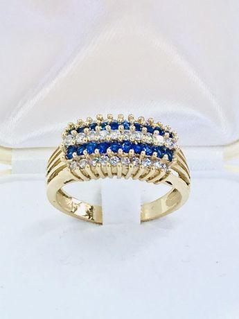 Złoty pierścionek 585. Rozmiar 21