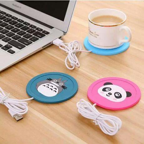 USB грелки для чашек подогрев чая, кофе