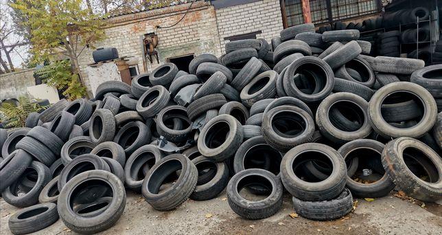 Шины для переработки или топки по  Резина скаты колеса